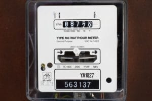 Electricity Meter installed in Penrith, Sydney