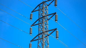 A pylon of electricity in Sydney